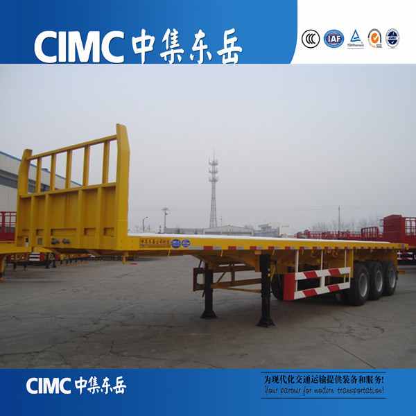 Tri Axles 40 tons Trailer Truck for Container carriers