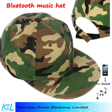 Bluetooth Beanie Cap Stereo Speakers and Music Hands Free summer Running Hat