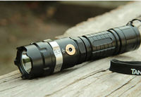 Tactical rechargeable led flashlight 3000 lumens