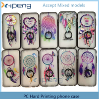 2017 china Wholesale price leather mobile phones printing style TPU finger holder transparent smart cover for samsung j7 2017