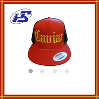 youthful simple and beautiful customized sticker snapback hats