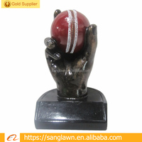 2018 New Polyresin Cricket Trophy For Cricket Fans