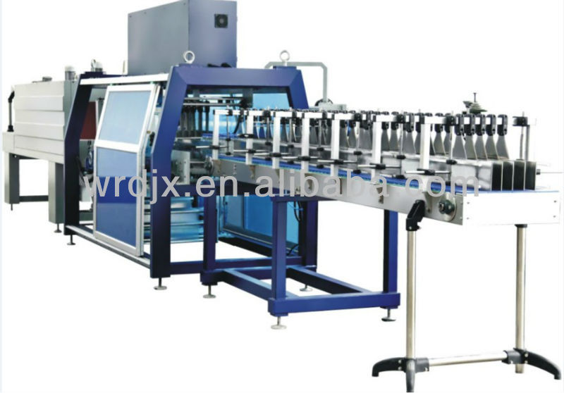 High quality long duration time fully-auto sleeve sealer shrink tunnel machine for factory use
