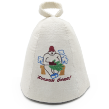 Pure Russian Style Wool Sauna Hat