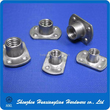 different types of steel/copper/aluminum round rectangle flange weld nut