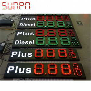 Outdoor LED gas price changer/ led gas station price board/led gas price display