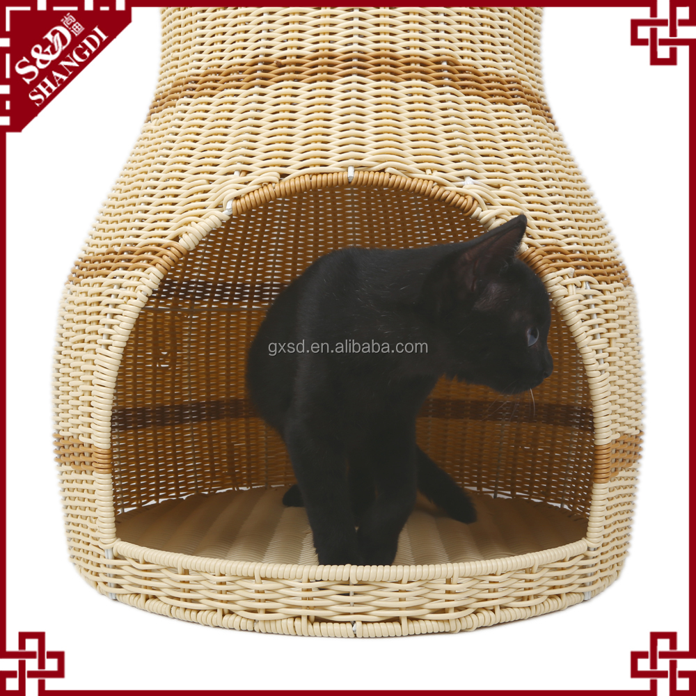 S&D Pro Pet products double layers cat bed cages house