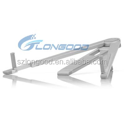 New high quality desktop/bed Foldable universal Aluminum tablet holder for tablet and smartphone