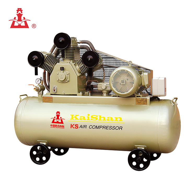 Kaishan 7.5KW electric motor driven portable piston air compressor