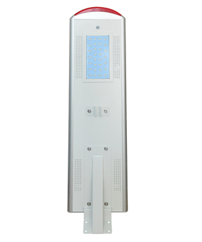 More safety DC12v25w outdoor all in one solar power blinking light street led light retrofit with RGB indicator