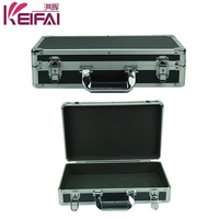 Universal Custom Black Aluminum Instrument Carry Case