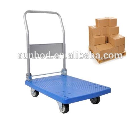 folding platform hand trolley cart hot dog carts food cart