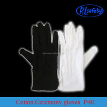 Bridal Lady Dress Long Parade White Inspection Black Uniform Gloves Waiter Cotton Promotion