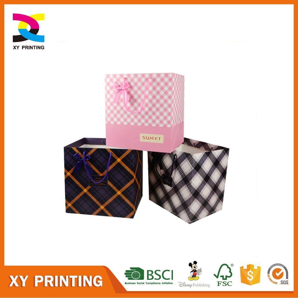 Colorful Paper Shopping Bag Printing