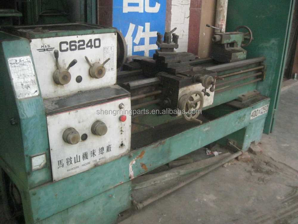 metal lathe used C6240 1200mm GUANGZHOU lathe machine