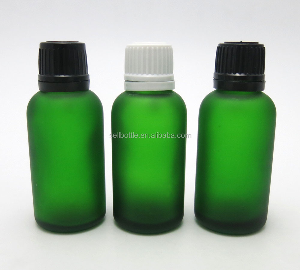 1 OZ fancy essential oil olive oil hair oil packaging glass bottle wholesale