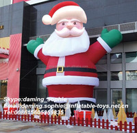 2015 more popular inflatable Christmas Xmas Santa Claus for outdoors decoration