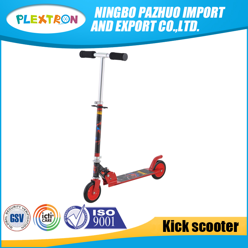 Top Quality wholesale PVC 125 mm Wheel kids Foot Kick Scooter For child
