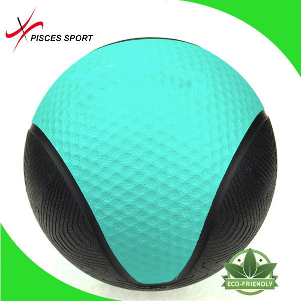 Exercise sand filled weight ball