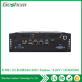 High qualified 24V J1900 Din Rail Rugged Fanless Box PC with 4* RS232 RS422 or RS485