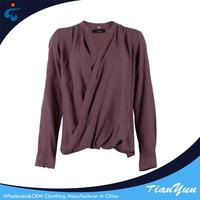 Professional manufacture western elegant casual ladies blouses and tops