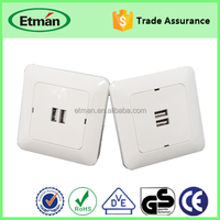 Wholesale 5V 2.1A OR 3.4A USB Wall Charger For Tablet PC