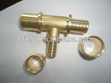 High Quality Brass Water Pipe Fitting Rehau Style With WATERMARK