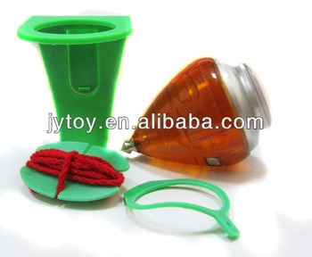 wholesale cheap plastic spinning top toy