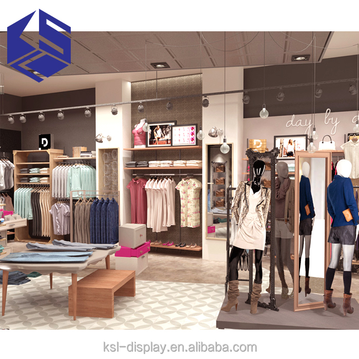 New Product Retail Clothing Store Interior And Exterior Design