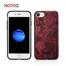 XOOMZ Luxury Python Mobile Phone Leather Case for iPhone 7 7 Plus
