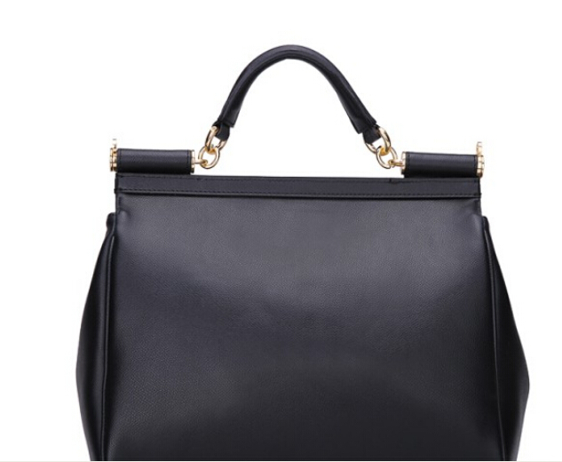 2015 new fashion  cross pattern handbag  cow leather square  magnetic snap women bag