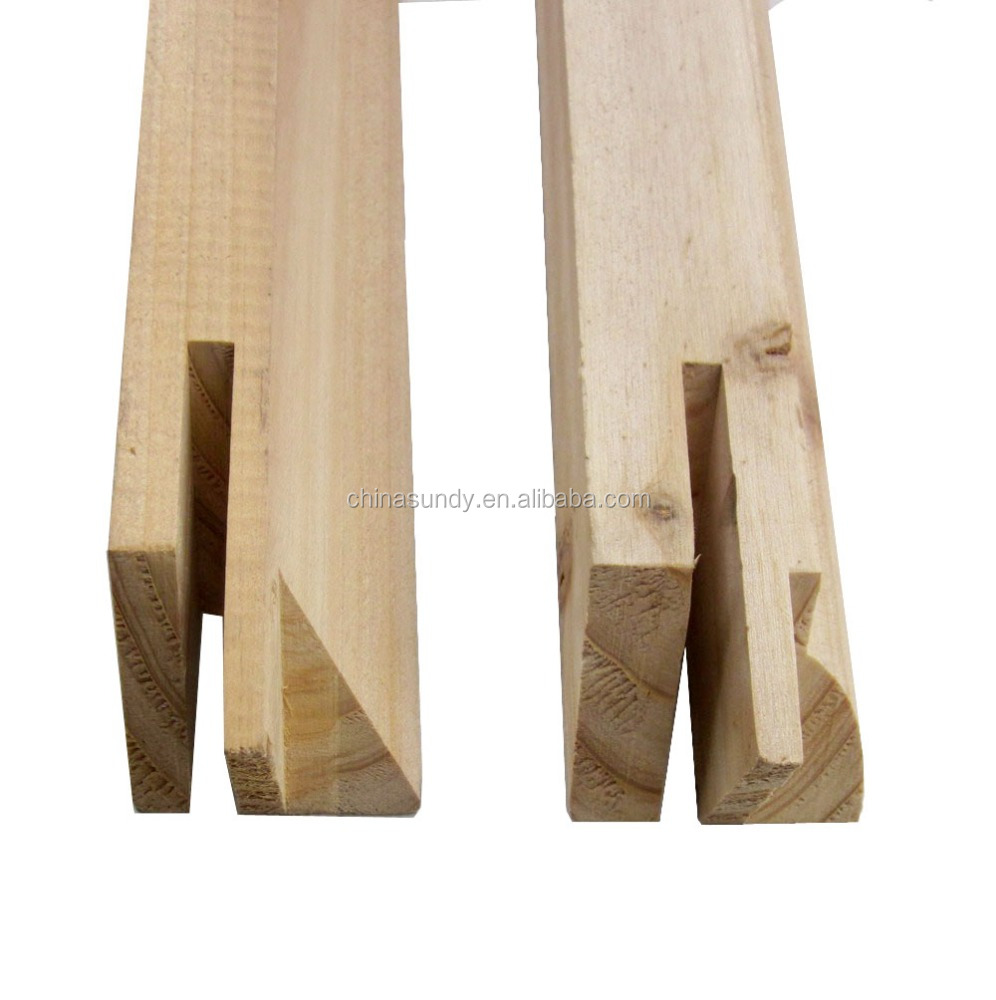 high quality fir and pine wholesale wood canvas stretcher bar