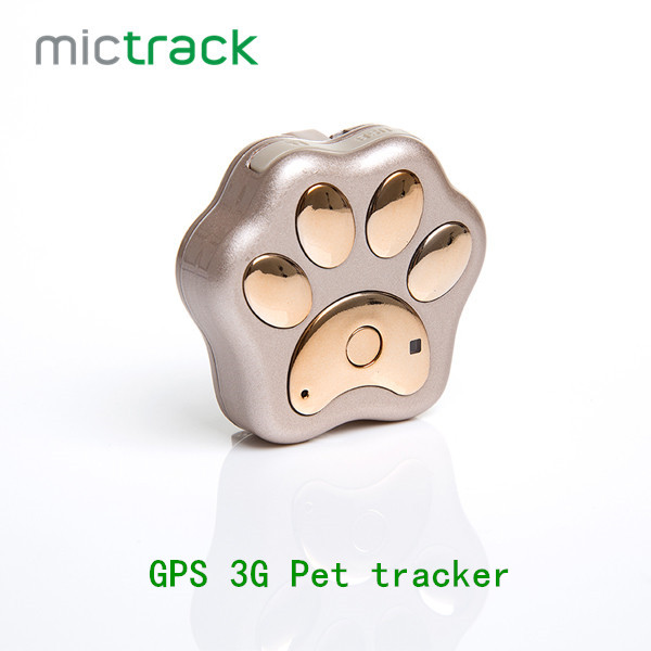 Mictrack MP10 Long <strong>Battery</strong> Life Realtime Smart Mini 3G Pet GPS Dog Tracker