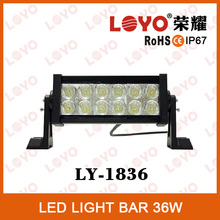 Shock price 10 inch double row 36w led light bar