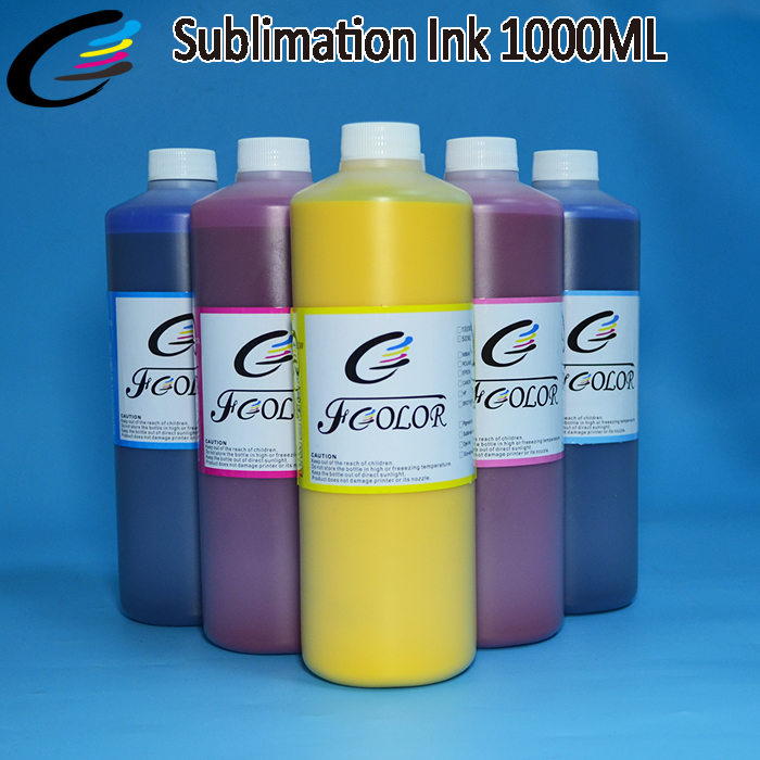 OEM Fabric Polyester T Shirt sublimation ink for Epson Printer