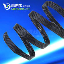 braided polyester PET expandable sleeving to protect wire