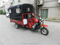 China Motorized 150cc Motorized Motorized Three Wheel Cargo Motorcycle With Cabin For Sale