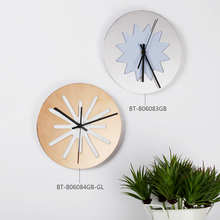 2016 New design modern style wall clock home decoration accessories