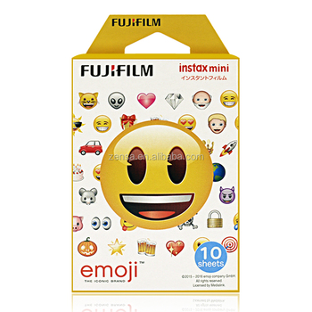 Fuji Fujifilm Instax Mini Emoji HK Instant Photo Film
