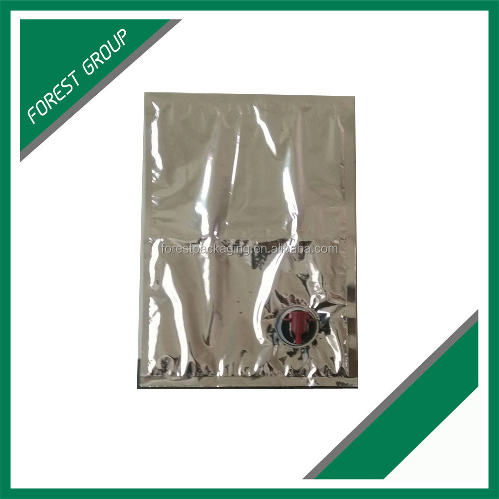 BIB BAG IN BOX PACKING SOLUTION FOR PURIFIED WATER,RED WINE,OIL,SAUCES,JUICES,DETERTENT ETC.