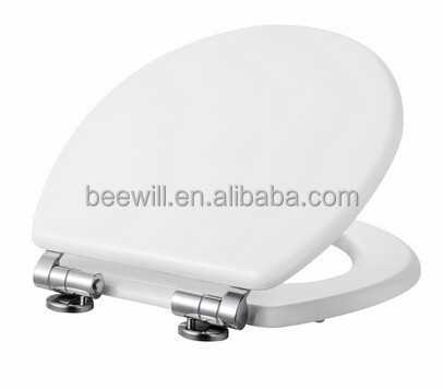 new stainess steel and zinc alloy style quick release and soft close toilet seat hinges