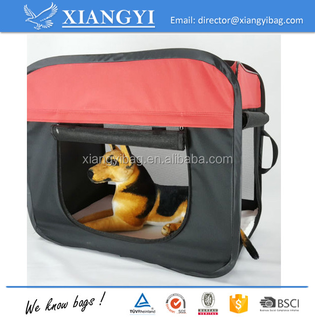 Large Pet Carrier Sided Cat Dog Comfort Bag Travel Approved Portable Foldable