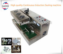 Hot Sale Continuous aluminum induction screw thread cap sealing machine DL-300