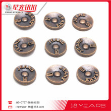 The most wonderful Clothing decoration metal jeans button rivet