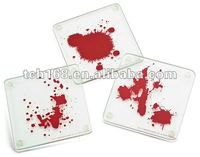 Square shaped acrylic table coaster,acrylic cup pad