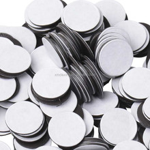 cheap round adhesive rubber magnet