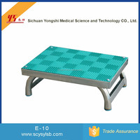 Wholesale Durable Medical Steel hospital foot padded step stool for sale