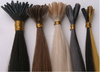 Best quality Russian hair nano ring hair extension, 0.8g/strand ,good glue no shedding