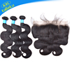 KBL virgin brazilian silk base closure 5x5, body wave human elastic band lace frontal closure, human hair bundles with frontal