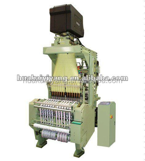 Jacquard belt machine